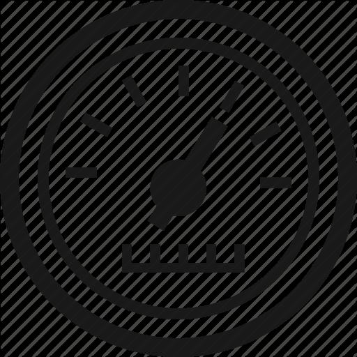 Gauge, Meter, Odometer Icon