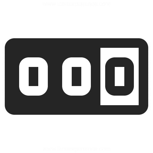 Odometer Icon Iconexperience