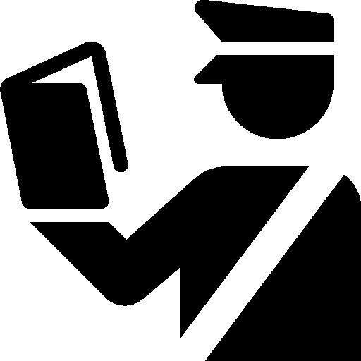Travel Customs Officer Icon Windows Iconset