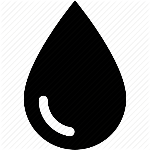 Blood Drop, Diesel, Drop, Oil, Rain, Water, Water Drop Icon