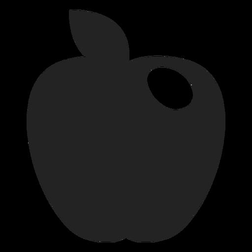 Hanukkah Apple Black Icon