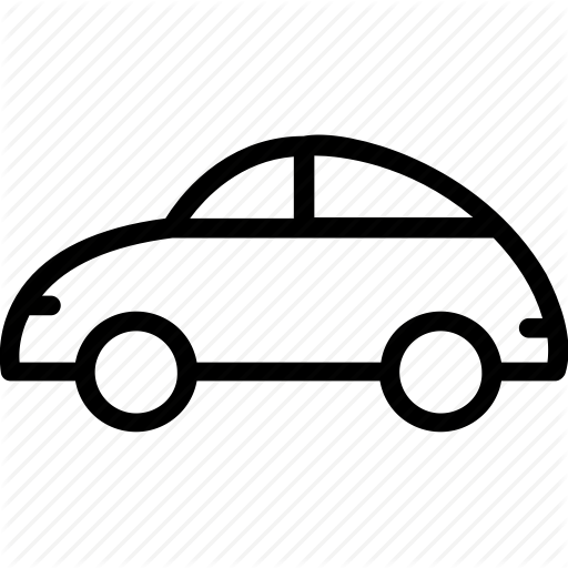 Car, Foxy Car, Old Model Car, Vintage Car, Volkswagen Icon