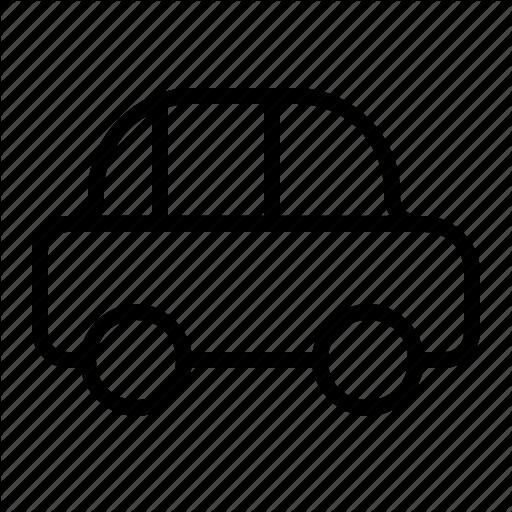 Car, Old, Transportation, Vehicle Icon