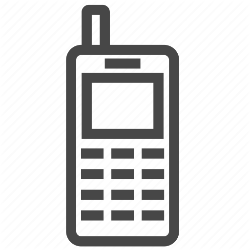 Feature Phone, Mobile, Old Phone, Phone, Retro Phone Icon