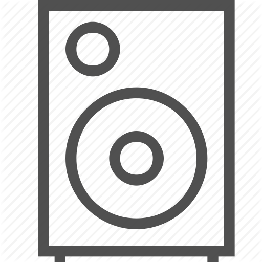 Column, Equipment, Loudspeaker, Media, Music, Player, Stereo Icon