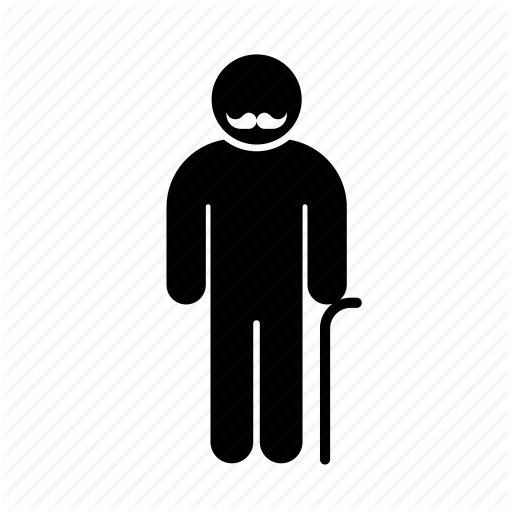Geriatrics, Medicine, Old Man, Person, Senior Icon