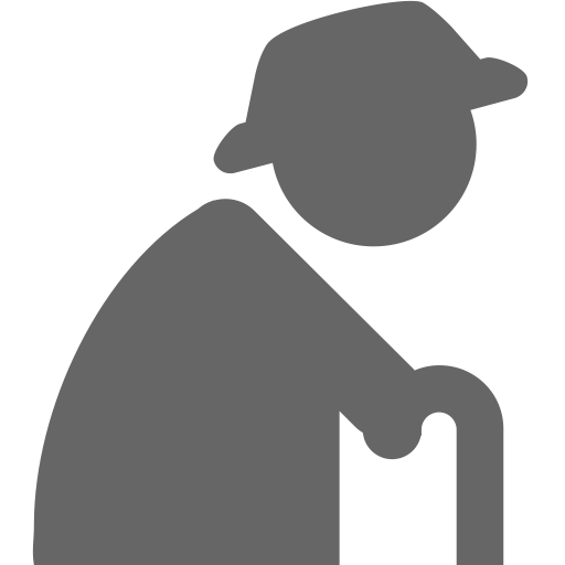 Old Age, Age, Elderly Icon With Png And Vector Format For Free