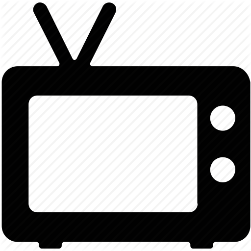Old Tv, Retro, Television, Tv, Vintage Tv Icon