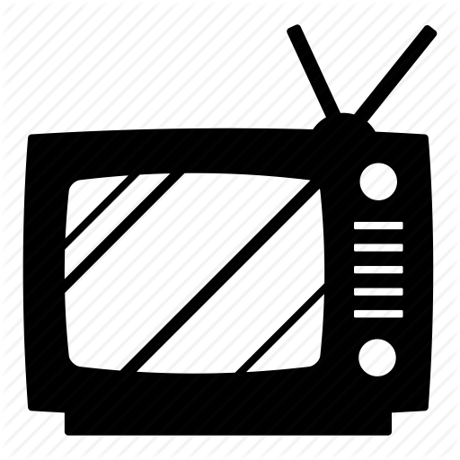 Antenna, Classic Tv, Old Tv, Television, Tv, Vintage, Vintage Tv Icon