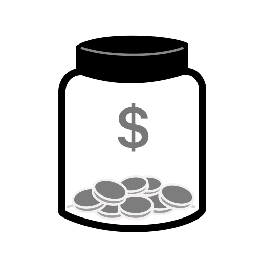 Pictures Of Tip Jar Icon