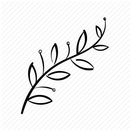 Branch, Decoration, Leaves, Nature, Olive Branch, Stem Icon