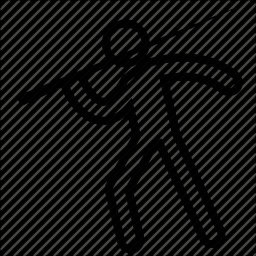 Athletics, Javelin, Javelin Throw, Olympic, Sports Icon