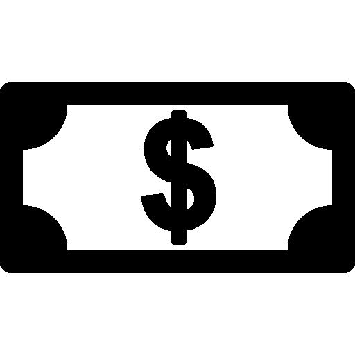 Dollar Bill Icons Free Download