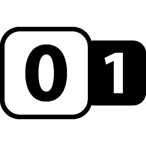 Zero To One Icons Free Download