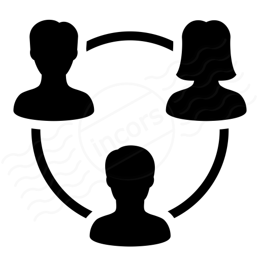 Iconexperience I Collection Users Relation Icon