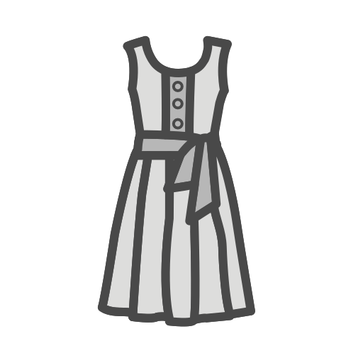 Tunic, Dress Icon Free Of Clothing Icons Fill