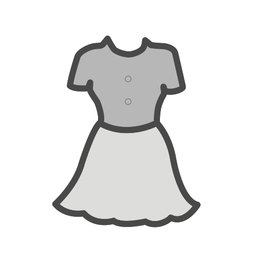 Frock Icon Free Of Clothing Icons Fill