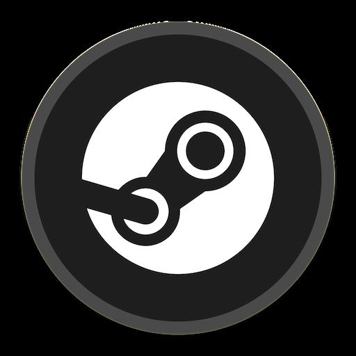 Steam Icon Button Ui