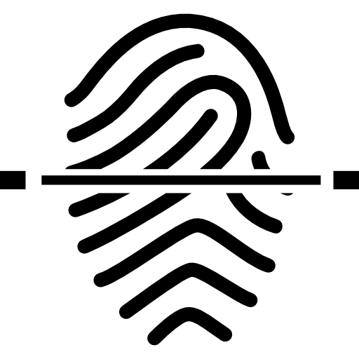 Fingerprint Ongoing Scanning Icons Free Download