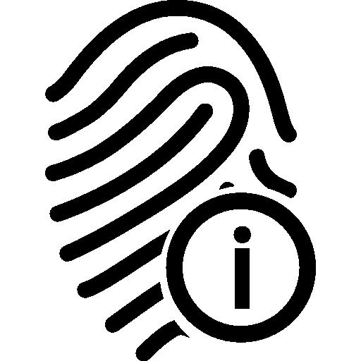 Fingerprint Information Symbol