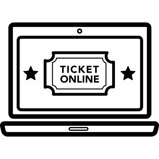 Online Cinema Tickets Icons Free Download