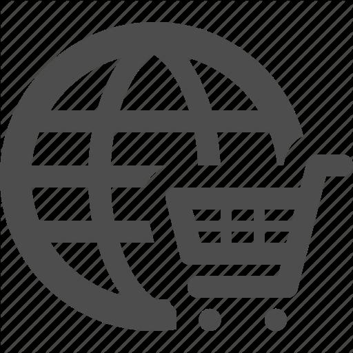 Cart, E Commerce, Global, Globe, Online, Shopping Icon