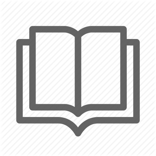 Education, Knowledge, Literature, Open Book Icon