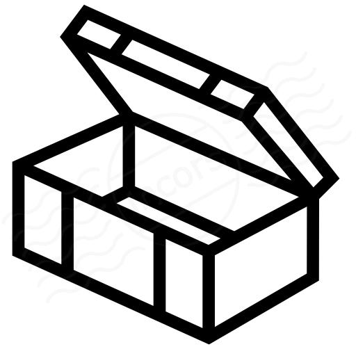 Iconexperience I Collection Ammunition Box Open Icon