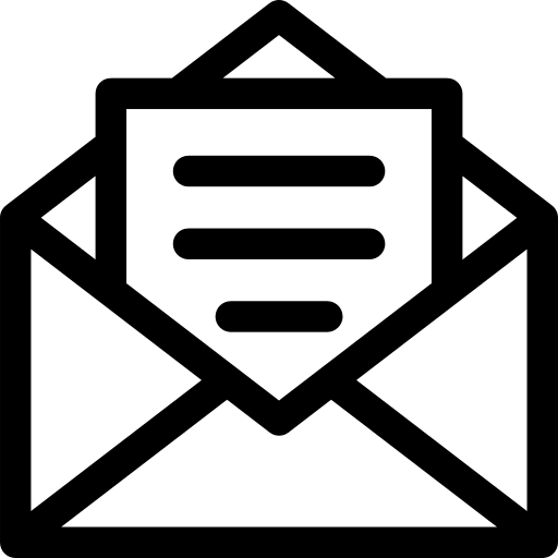 Open Email Envelope Symbol On A Mobile Phone Screen Png Icon