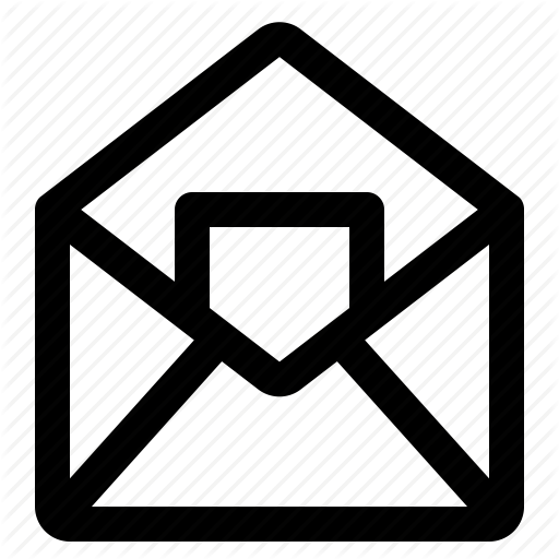 Business, Office, Open Email Icon