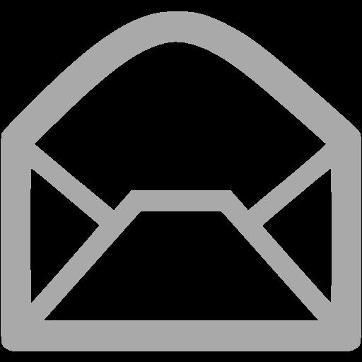 Dark Gray Email Icon