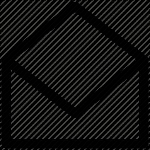 Envelope, Letter, Mail, Message, Open, Open Envelope Icon
