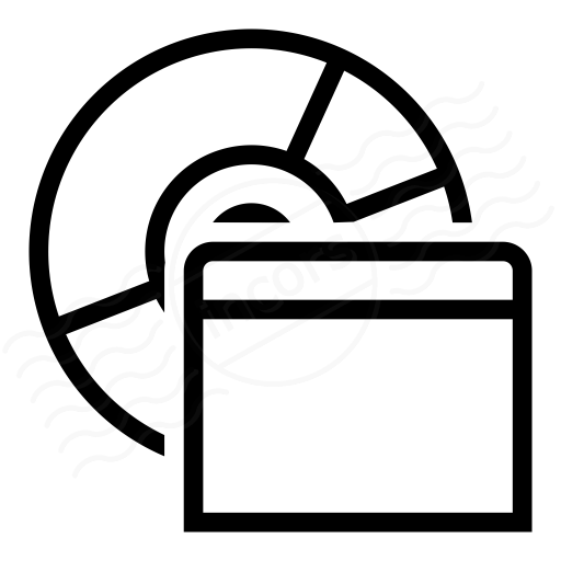Iconexperience I Collection Cd Window Icon