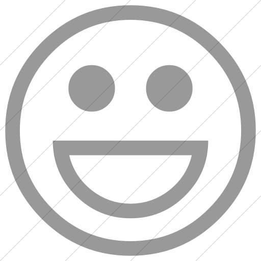 Simple Light Gray Classic Emoticons Smiling Face