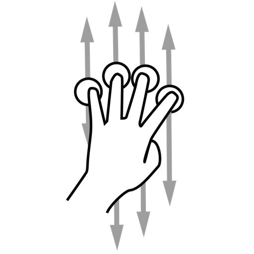Open Source Gesture Library Icon