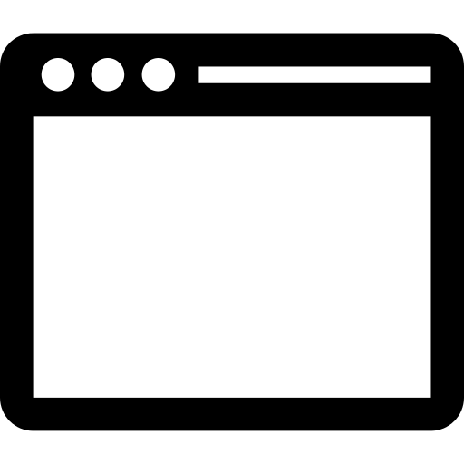 Open Computer Window Png Icon
