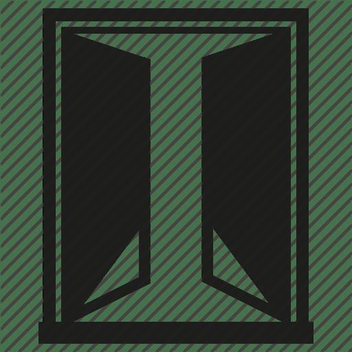 Open Window Icon Full