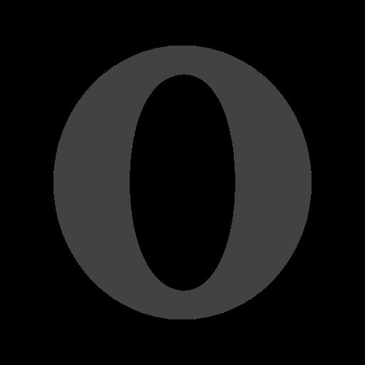 Opera Icon Free Of Social Media Logos I Glyph