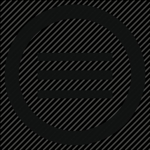 Application, Circle, Hamburger, Menu, Navigation, Options, Slide Icon