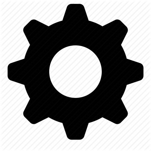 Gear, Options Icon