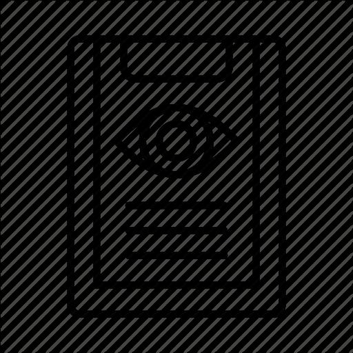 Eye, Health, Healthcare, Medical, Optometrist, Optometry, Sight Icon