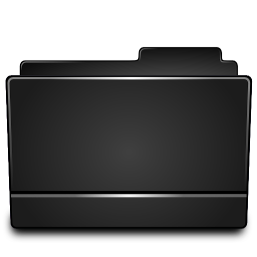 Folder Black Icon Free Download As Png And Icon Easy
