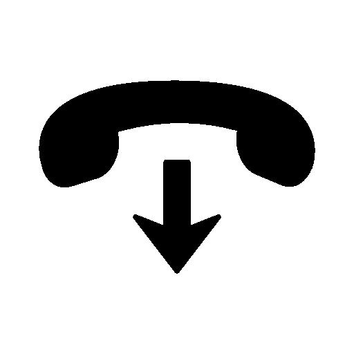 Orange Phone Icon