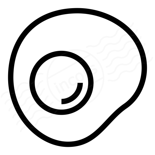 Iconexperience I Collection Fried Egg Icon