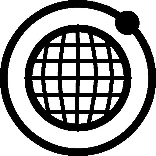Orbit Network Symbol Icons Free Download