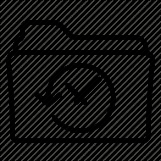 Folder, History, Office, Transaction Icon