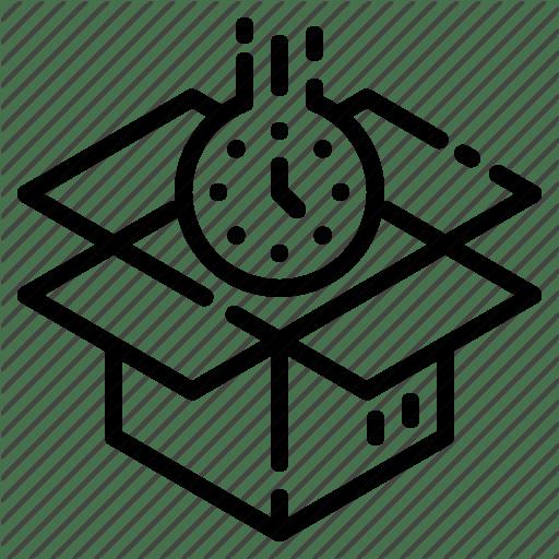 Customer Service Order Processing Icon