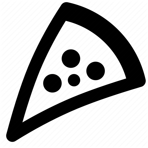 Cheese, Pepperino, Pie, Pizza, Pizza Slice, Slice Icon