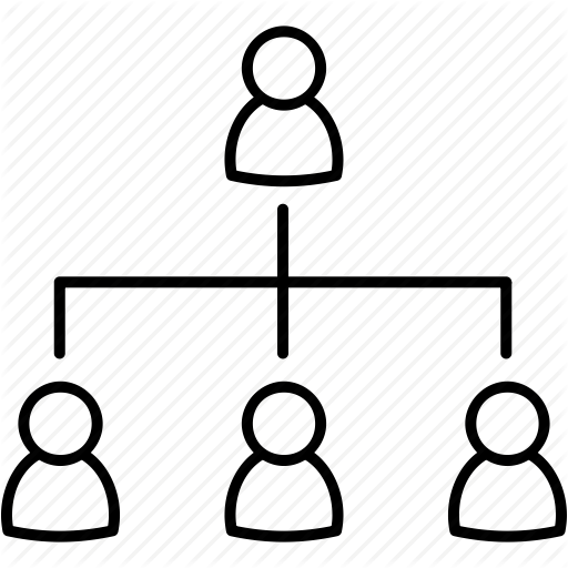 Extensive Organizational Structure Icon