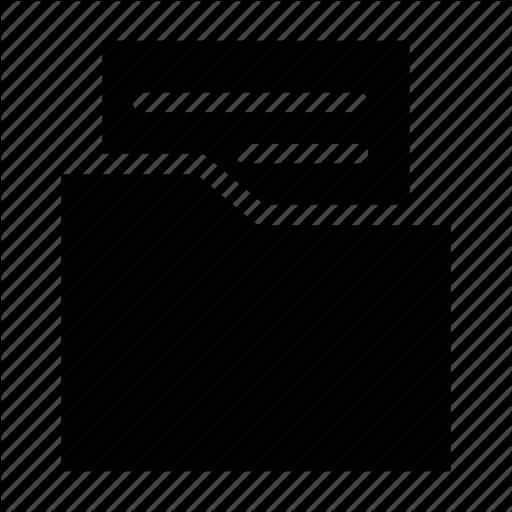 Archive, File, Folder, Letter, Organizer Icon